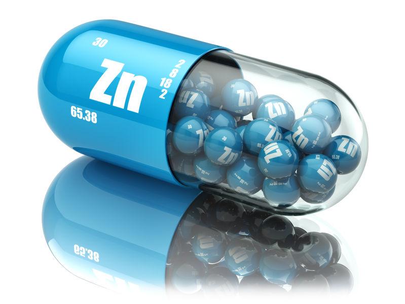 imagem da cápsula de zinco